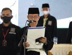 Ketua Umum Persaudaraan Setia Hati Terate Lantik Pengurus Hasil Parluh 2021