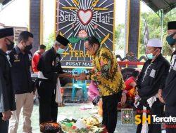 Wakil Bupati Kutai Timur Resmikan Tugu Prasasti PSHT Rayon Sidodadi Ranting Sangatta Cabang Kutai Timur Pusat Madiun