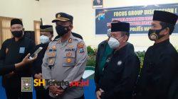 Hadiri Undangan Polres Madiun Kota, Kangmas R. Moerdjoko HW Ikuti Rapat Focus Goup Discussion